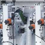cấu tạo bộ xén mép trên dưới máy dán cạnh thẳng 5 chức năng tự động