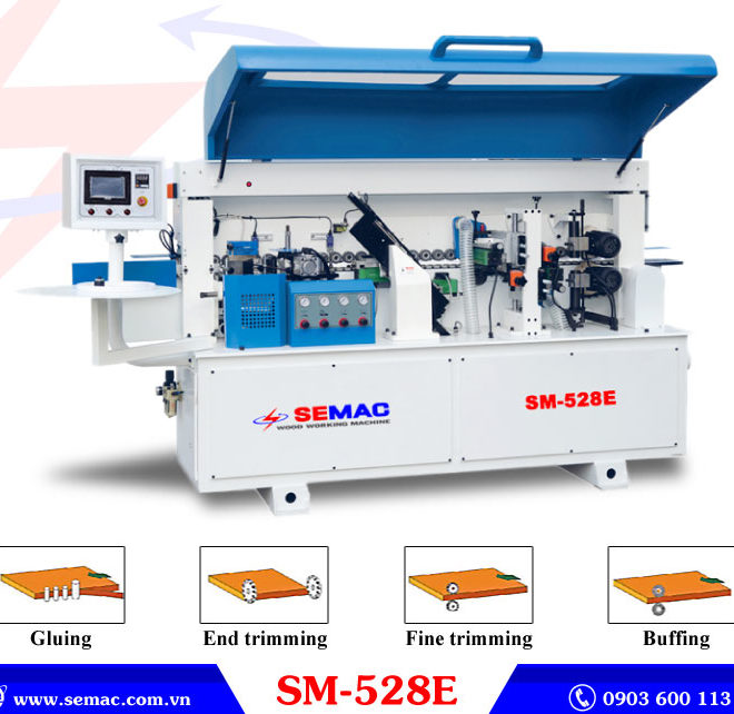 Máy dán cạnh tự động 4 chức năng SM-528E