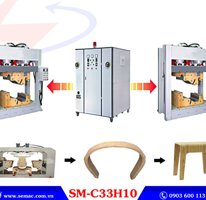 Máy ép cong cao tần SMC33H10