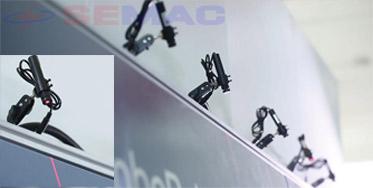 hệ thống định vị laser