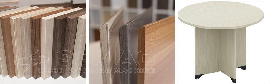 các biên dạng dán cạnh ván gỗ công nghiệp