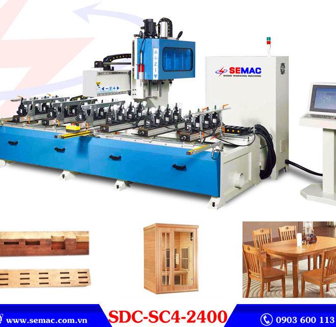 Máy đánh mộng cnc SDC-SC4-2400