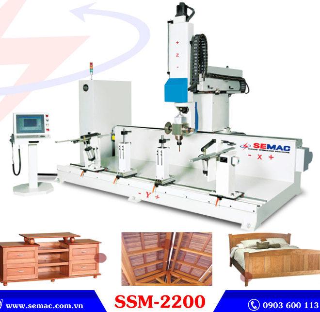 Máy gia công 5 trục SSM-2200