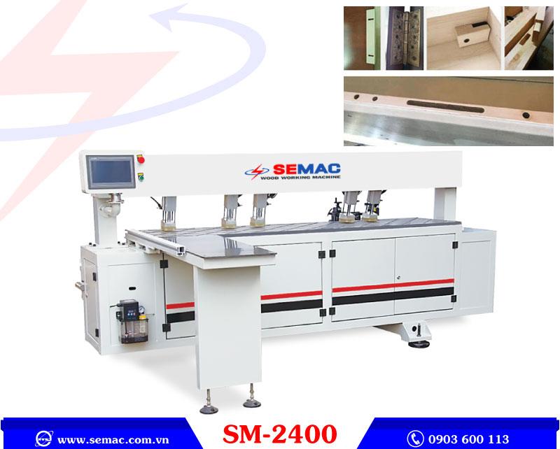 máy khoan liên kết cnc sm-2400