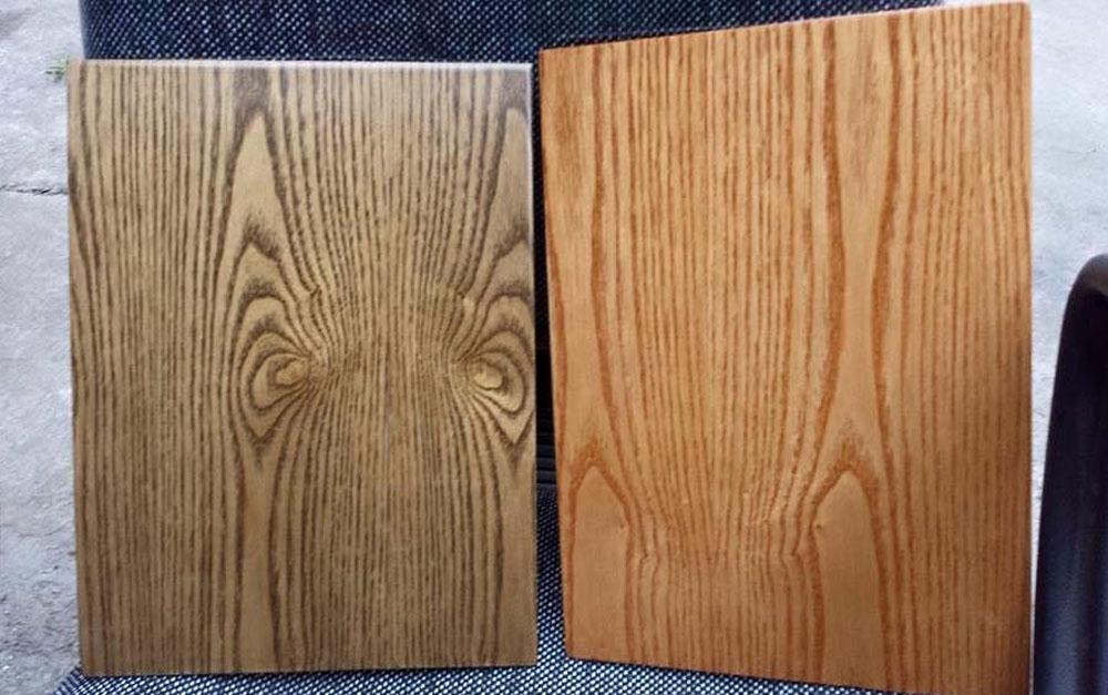 sản phẩm cán vân gỗ