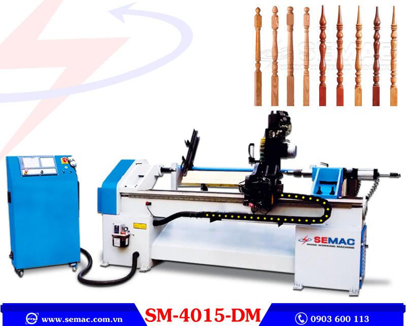 Máy tiện chà nhám cnc SM4015DM