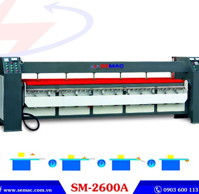 Máy uốn cạnh cong SM-2600A