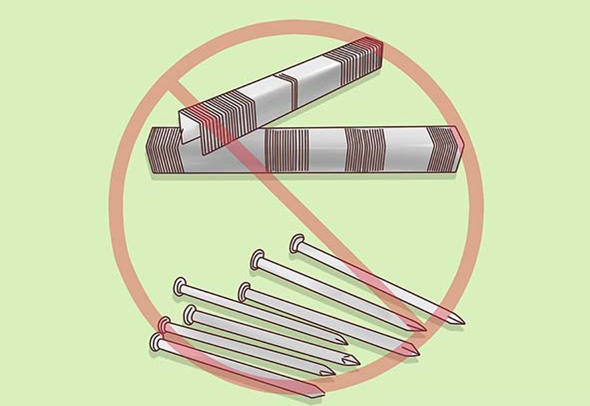 Bỏ qua những thiết bị chỉ được kết nối bằng đinh và ghim