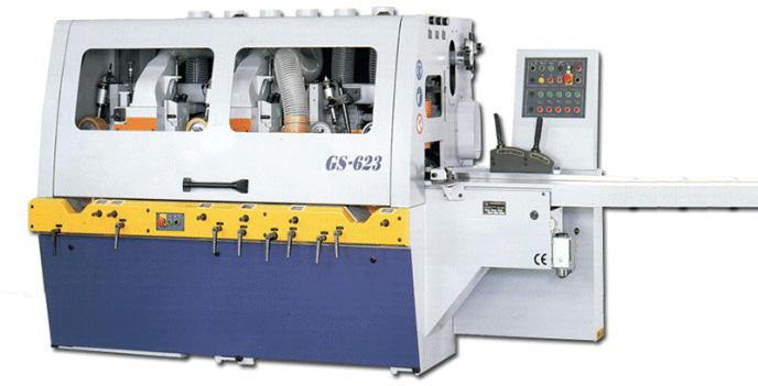 Máy bào 4 mặt gỗ đài loan GS-423 / 523 / 623