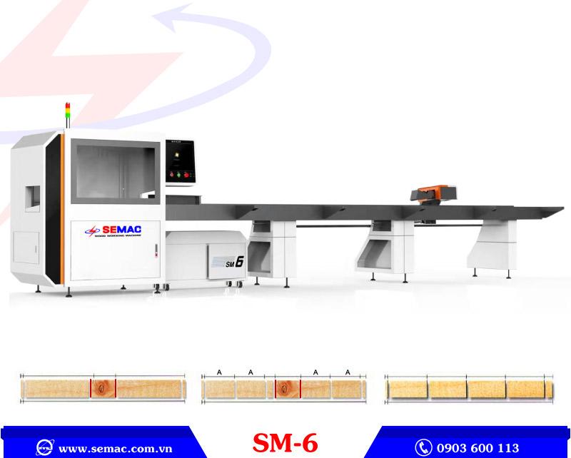 Máy cắt loại bỏ khuyết tật SM-6