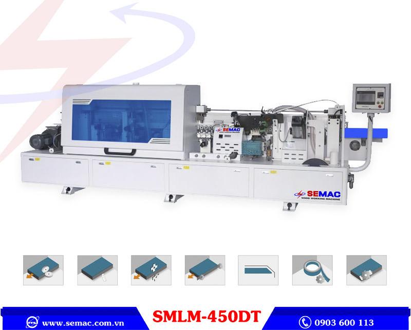 máy dán cạnh nghiêng 45 độ tự động 7 chức năng